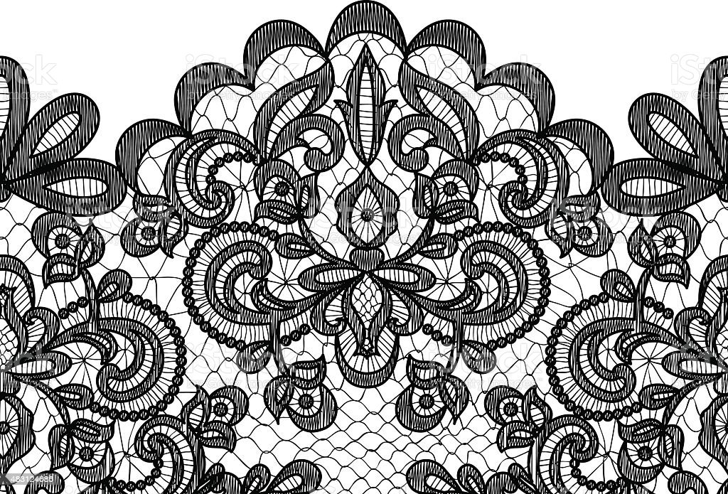lace border on green background stock vector art more images of rh istockphoto com lace vector free download lace vector clip art free