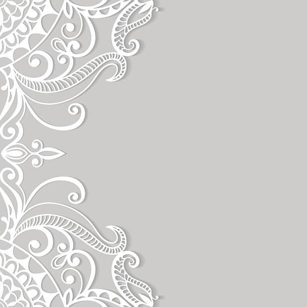 Рамзан надписью, шаблон кружева для открытки