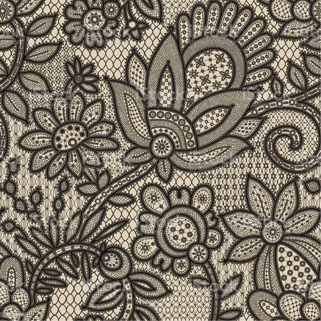 Lace Seamless Pattern. royalty-free lace seamless pattern stock vector art & more images of antique