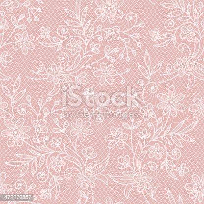 istock Lace Seamless Pattern. 472276857