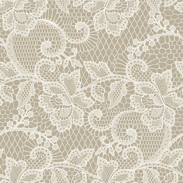 lace seamless pattern. - wedding backgrounds stock illustrations, clip art, cartoons, & icons