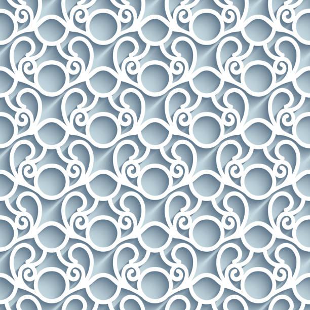 nahtlose textur lochmuster - gehäkelte lebensmittel stock-grafiken, -clipart, -cartoons und -symbole