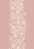 istock Lace Vertical Seamless Pattern. 165761232
