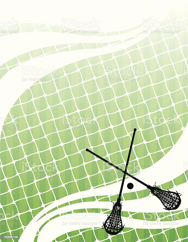 Lacrosse Background - Female royalty-free lacrosse background female stock vector art & more images of backgrounds