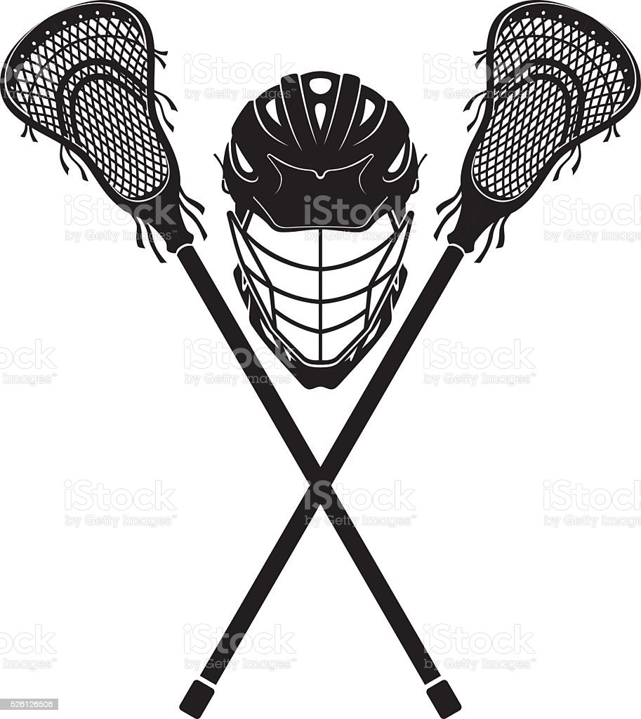royalty free lacrosse clip art vector images illustrations istock rh istockphoto com lacrosse clip art and graphics lacrosse stick clipart