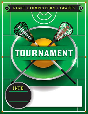 Lacrosse Tournament Flyer Template