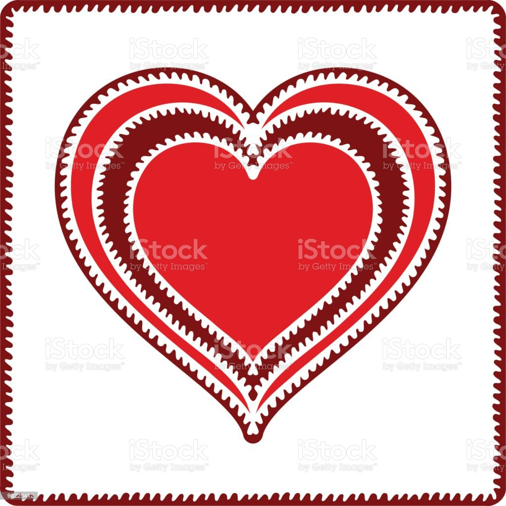 Lacy Valentine royalty-free lacy valentine stock vector art & more images of clip art