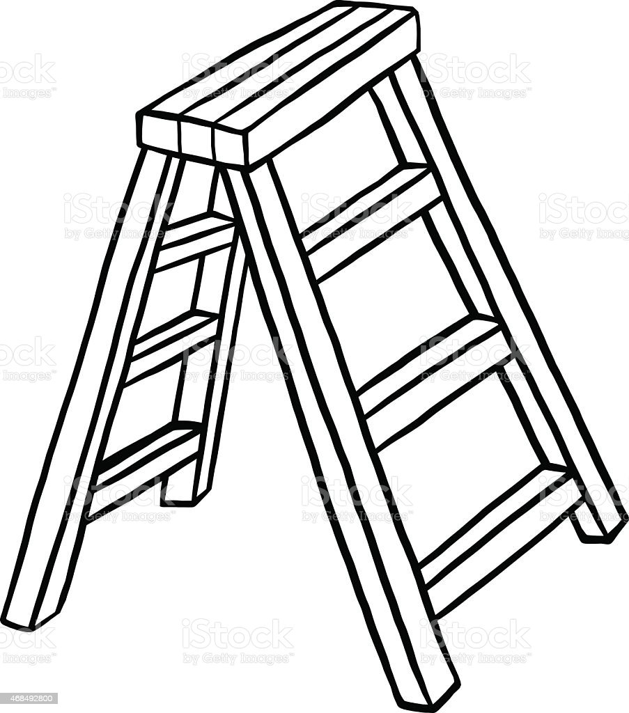 Ladder Stock Vector Art Amp More Images Of 2015 468492800
