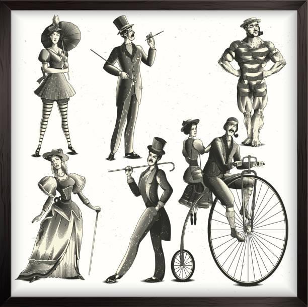 illustrations, cliparts, dessins animés et icônes de ensemble mesdames et messieurs - époux