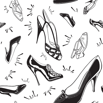 Ladies Shoe Pattern