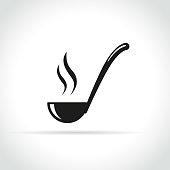 istock ladle icon on white background 958625954