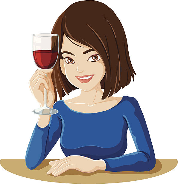Image result for free clipart image of people relaxing drinking wine