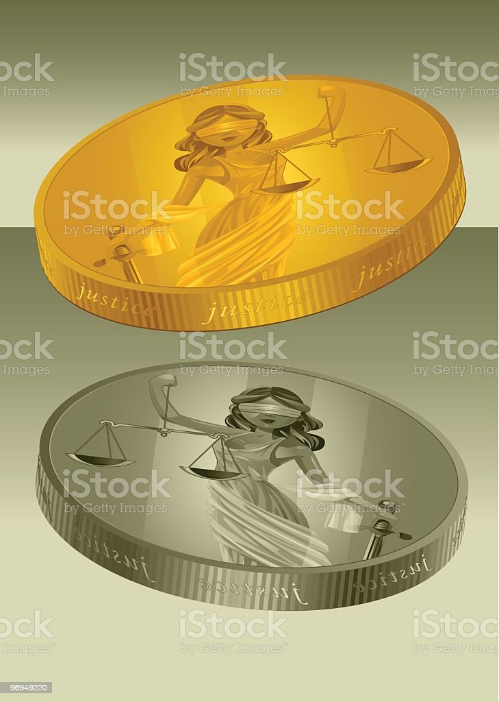 Lady Justice Coin royalty-free lady justice coin stock vector art & more images of adult