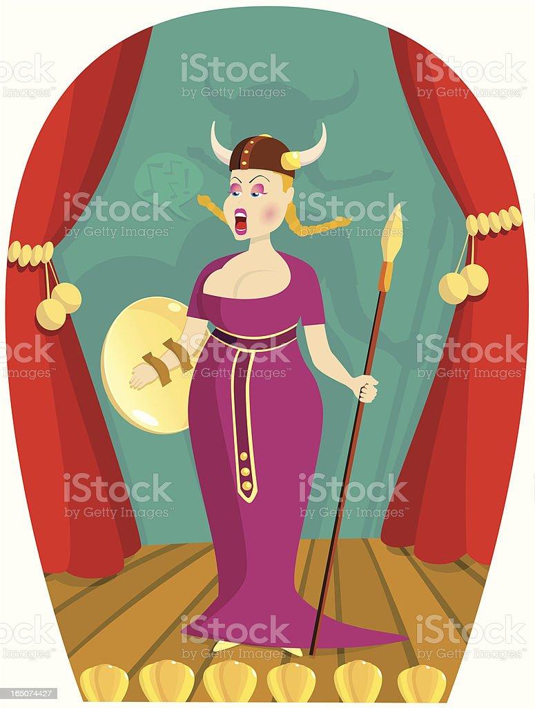 royalty free opera singer clip art vector images illustrations rh istockphoto com Viking Clip Art Singing Clip Art