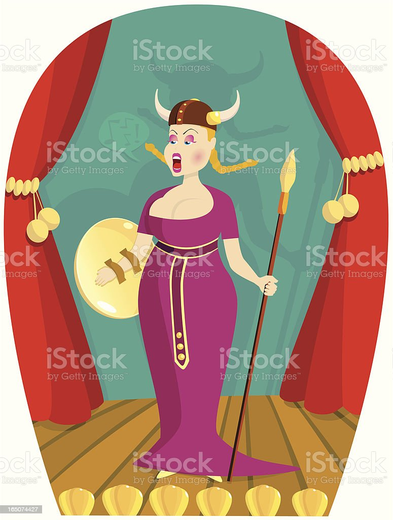 royalty free opera singer clip art vector images illustrations rh istockphoto com Female Singer Clip Art Singer Graphics