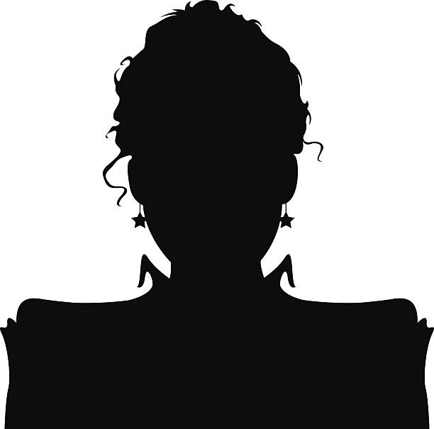 Victorian Woman Silhouette Illustrations, Royalty-Free ...