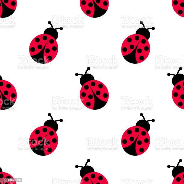 Ladybird decoration pattern ladybug seamless pattern design vector id1026861960?b=1&k=6&m=1026861960&s=612x612&h=smd2pfslrhq3bknbv771itjysji7asouqcpih89gyi8=