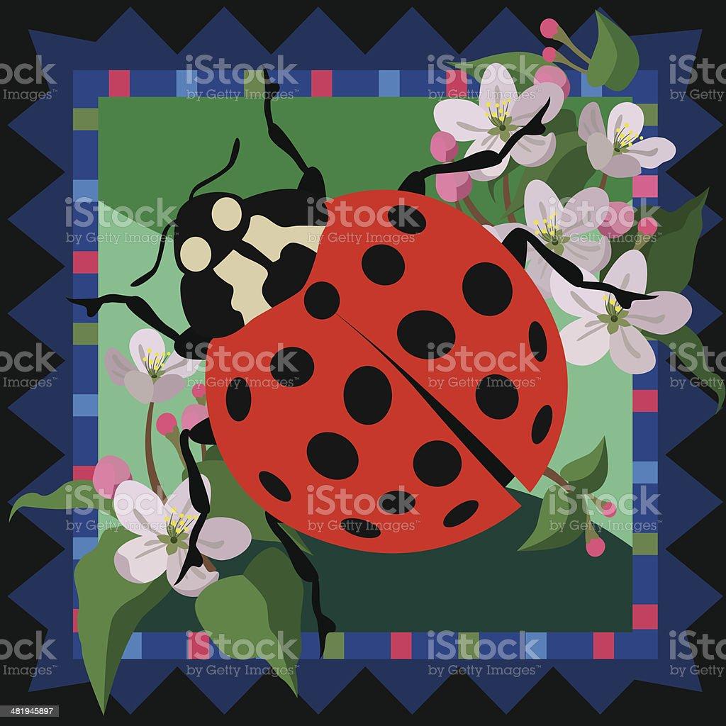 ladybug design royalty-free stock vector art