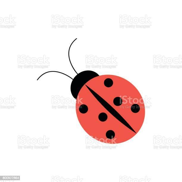Ladybug icon in flat style vector id800922864?b=1&k=6&m=800922864&s=612x612&h=xozntqv6satsfbp 8ns9zy6rodxeme il 5f6vlx1po=