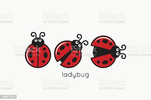 Ladybug logo set on white design background vector id638578074?b=1&k=6&m=638578074&s=612x612&h=wtp0pacpeqth6ajsrxlot0iinmohaxcm5gxmmpm0ts8=