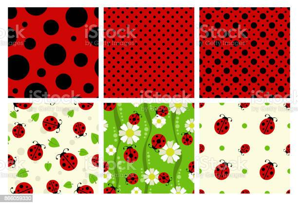 Ladybug patterns set vector id866059330?b=1&k=6&m=866059330&s=612x612&h=hwkcm pa3kqw94mjywr mbojv81pzse2pxfehomcyxu=