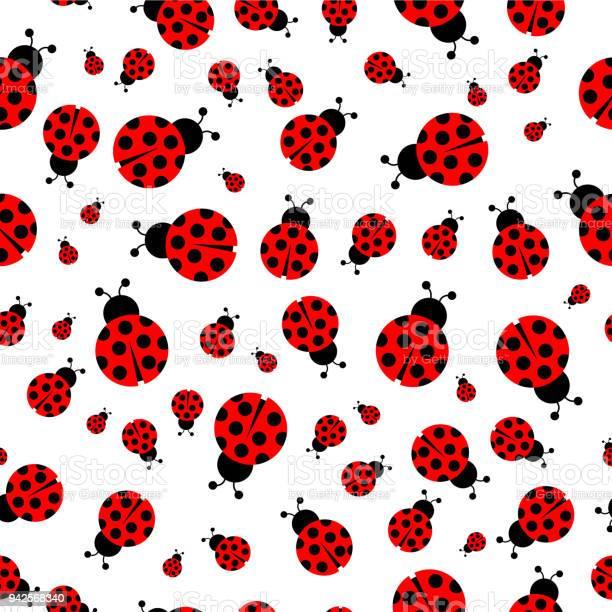 Ladybug seamless pattern vector vector id942568340?b=1&k=6&m=942568340&s=612x612&h=qtqm07r1la34x8czrse9pqebcb2ck9qcifrqjlzs9t8=