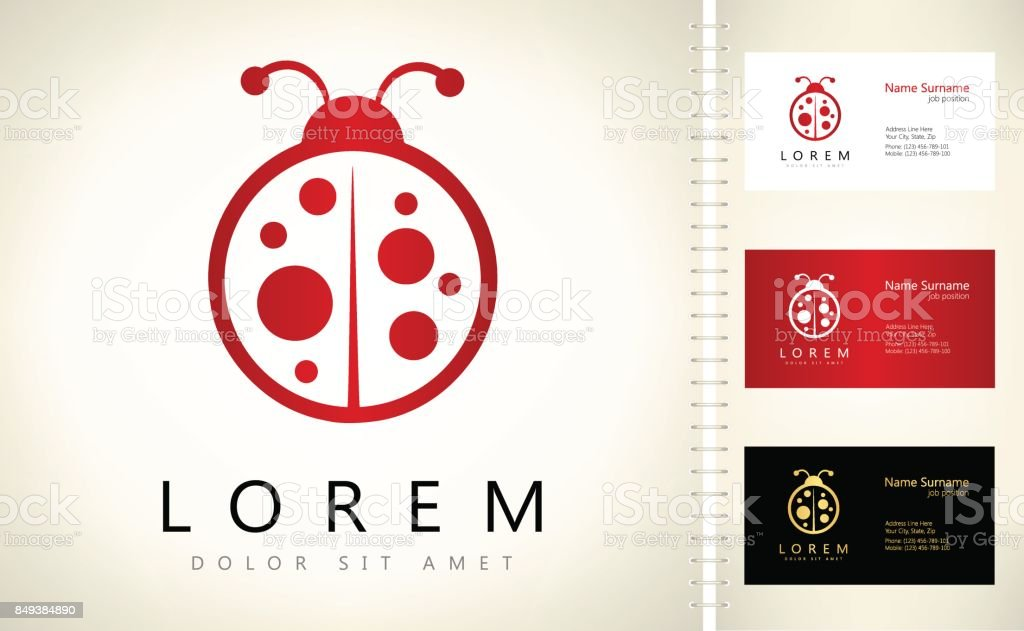Ladybug Symbol Stock Vector Art & More Images of Animal 849384890 ...