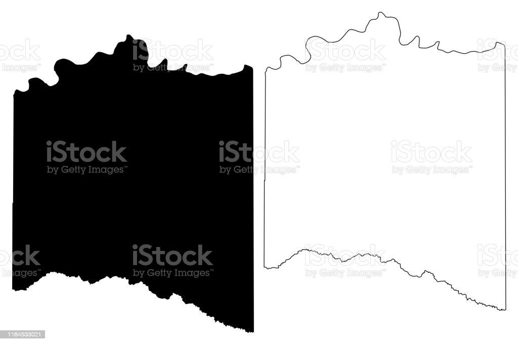 Lamar County Texas Map Vector Illustration Scribble Sketch