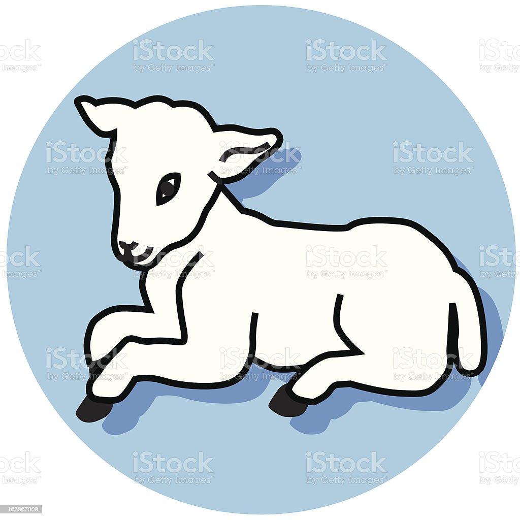 lamb icon royalty-free stock vector art