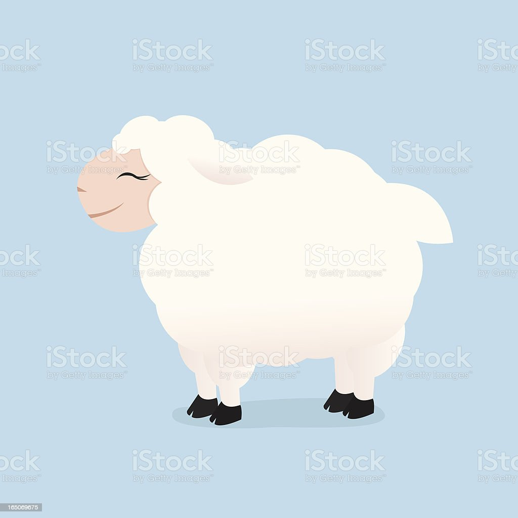 Lamb royalty-free stock vector art