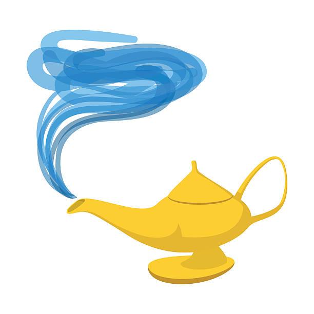 Best Magic Lamp Illustrations, Royalty-Free Vector ...