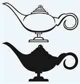 Free download of How TO Draw Genie Lamp vector graphics