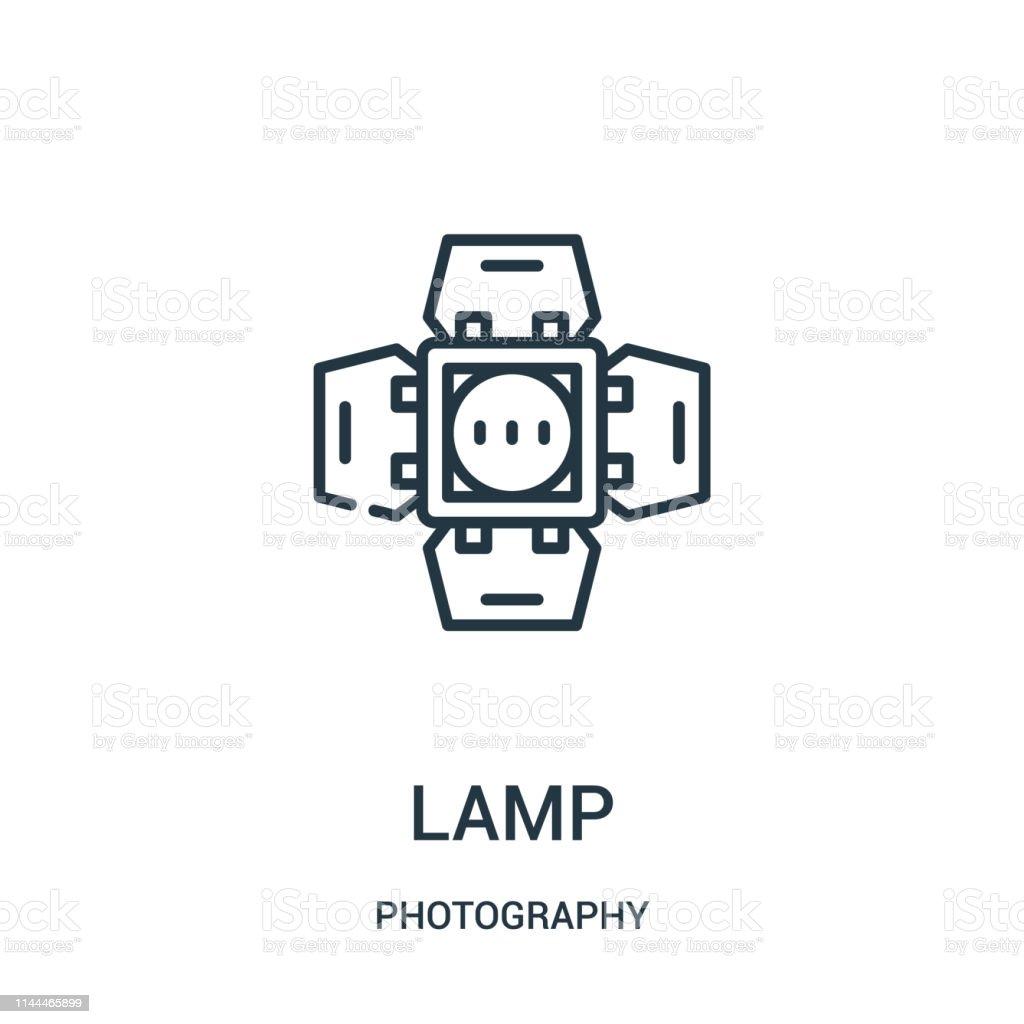 Icon Aus Sammlung Fotografie Linie Vektor Dünne Lampe Der pVqSMUzG