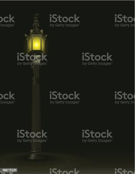 Lamp Post-vektorgrafik och fler bilder på Elektricitet