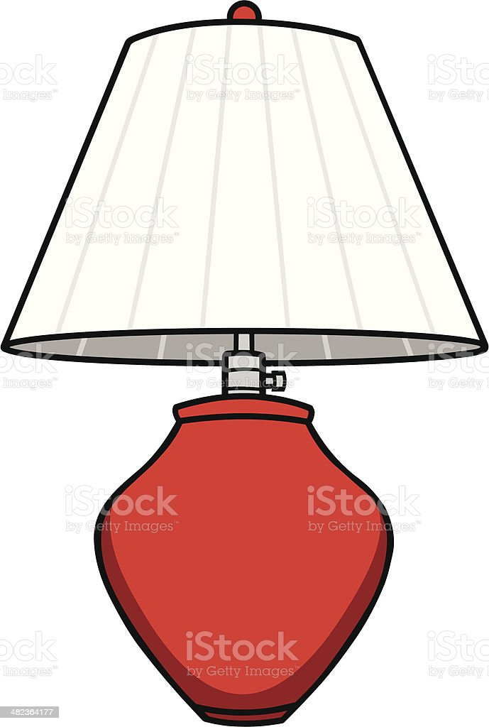 Lamp royalty-free stock vector art