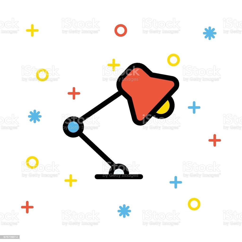 Lampe  - Lizenzfrei Alt Vektorgrafik