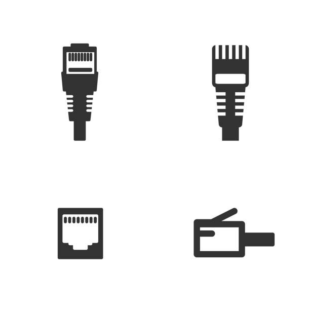Royalty Free Rj45 Clip Art, Vector Images & Illustrations