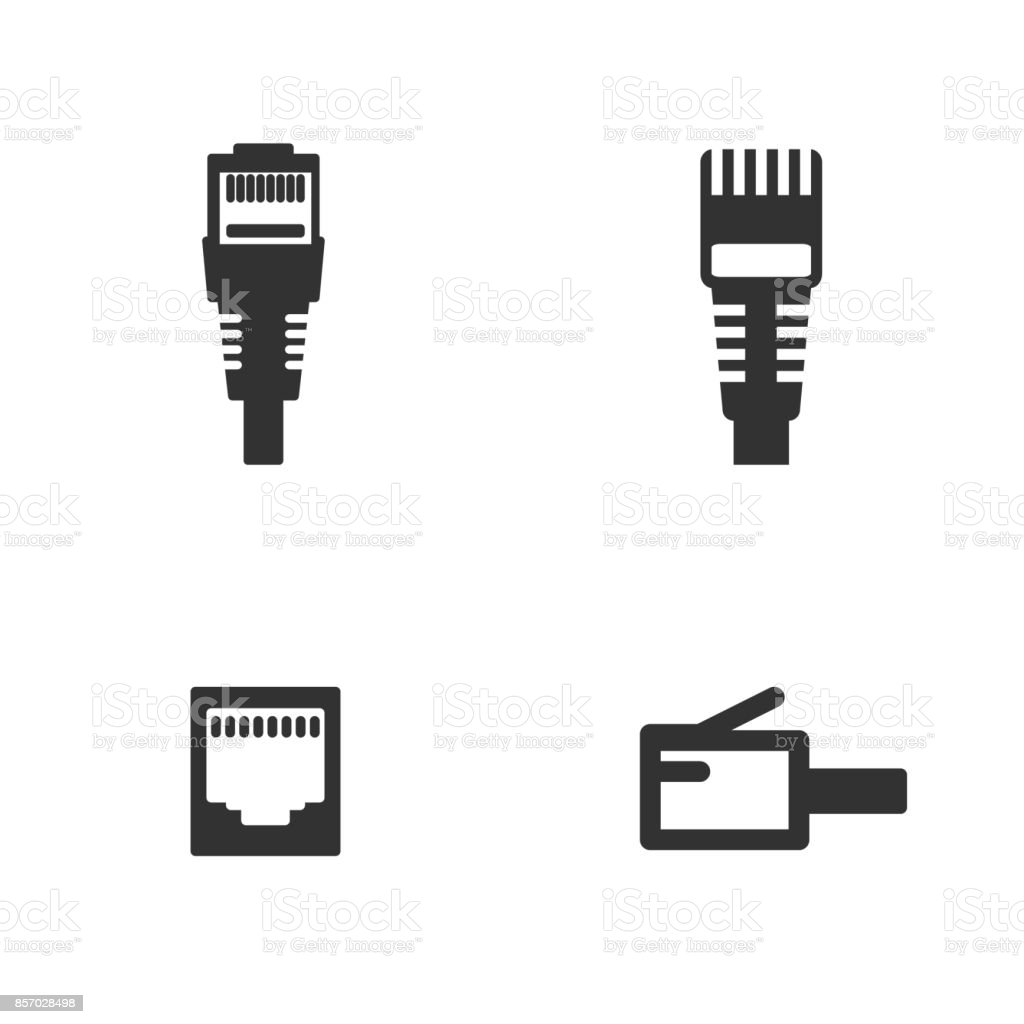 royalty free rj45 clip art  vector images  u0026 illustrations