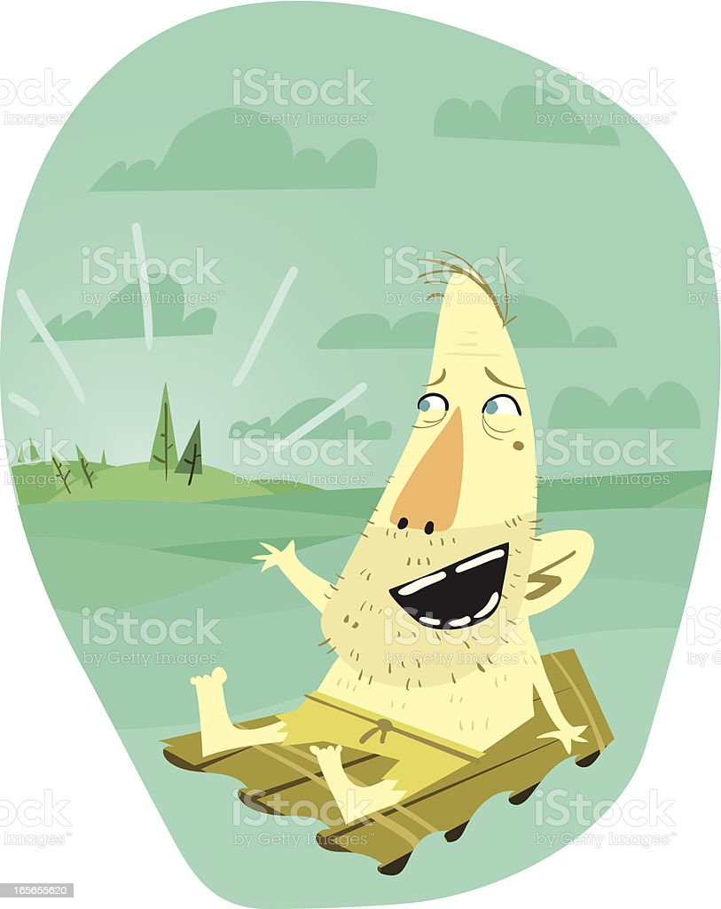 Land HO! royalty-free stock vector art