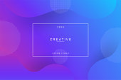 2019 landing page background. Fluid, liquid, wavy, dynamic shape background. Trendy and modern background color.