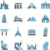 Landmark Icons - Conc Series