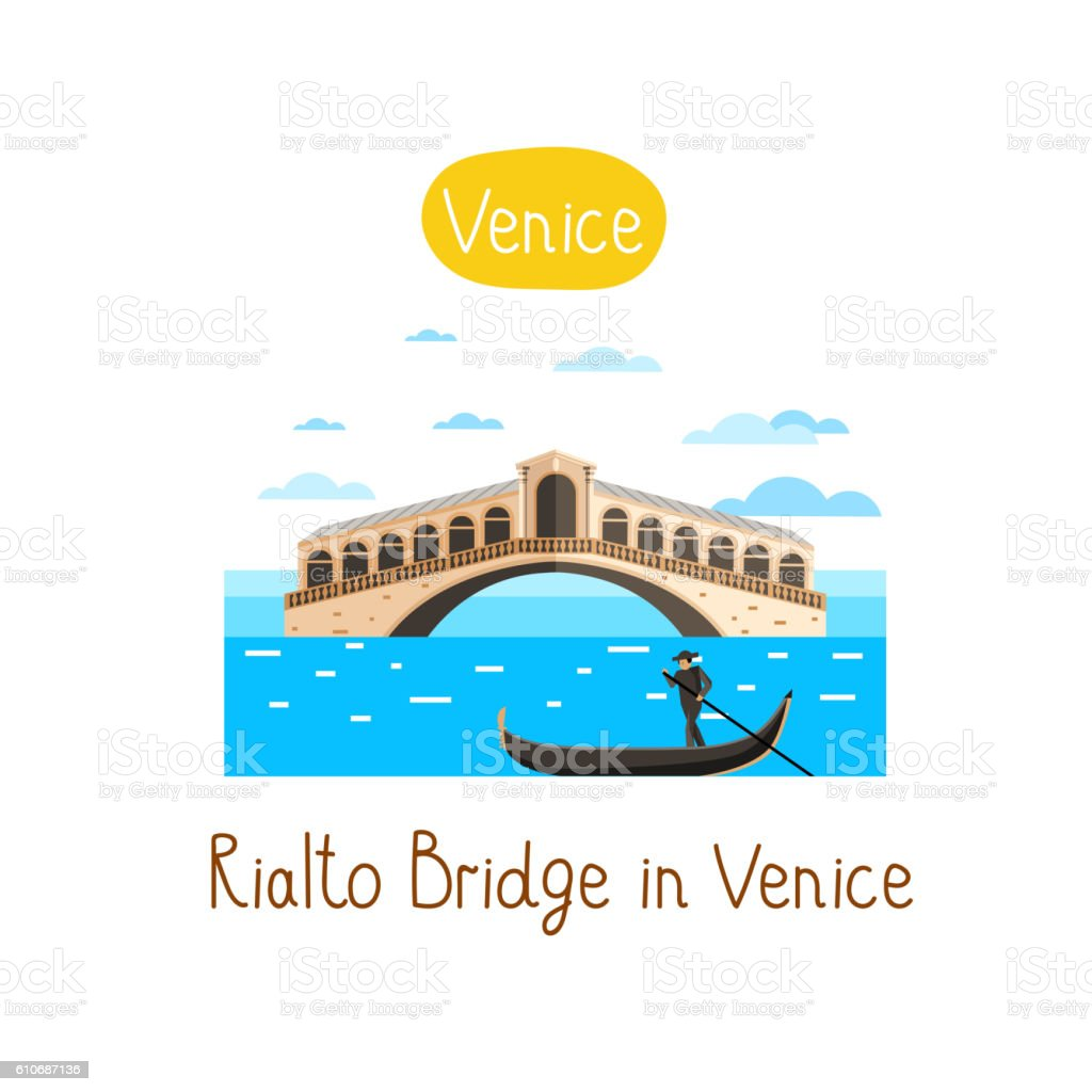 Landmarks concept. Travel the world. Vector. vector art illustration