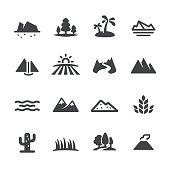 Landscape and Landform Icons