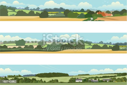 istock Landscape banners 165743982