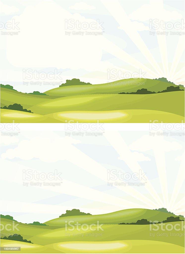 landscape royalty-free landscape stock vector art & more images of backgrounds