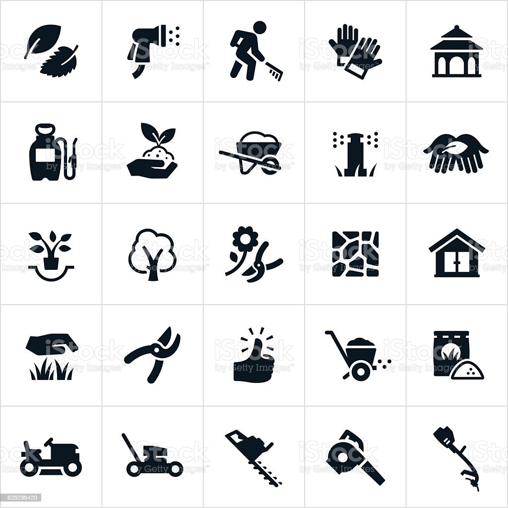 Landscaping Icons