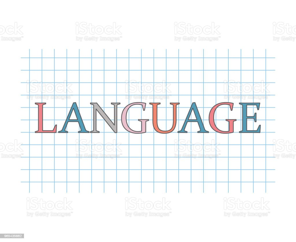 language concept royalty-free language concept stock vector art & more images of blue