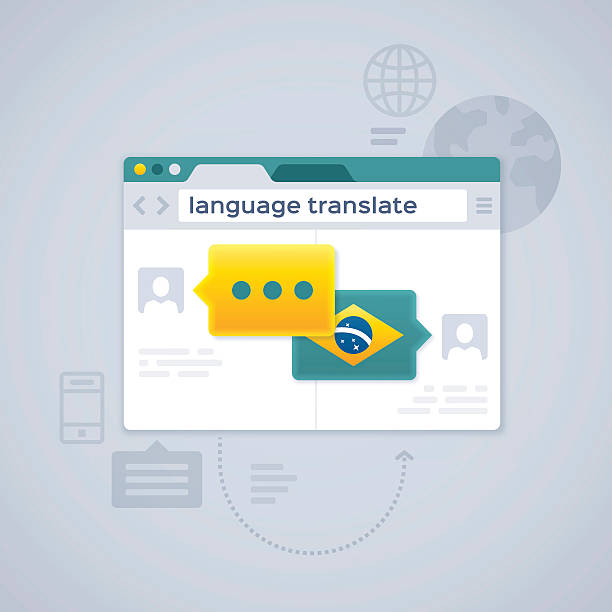 Language Translate or Translation – Vektorgrafik