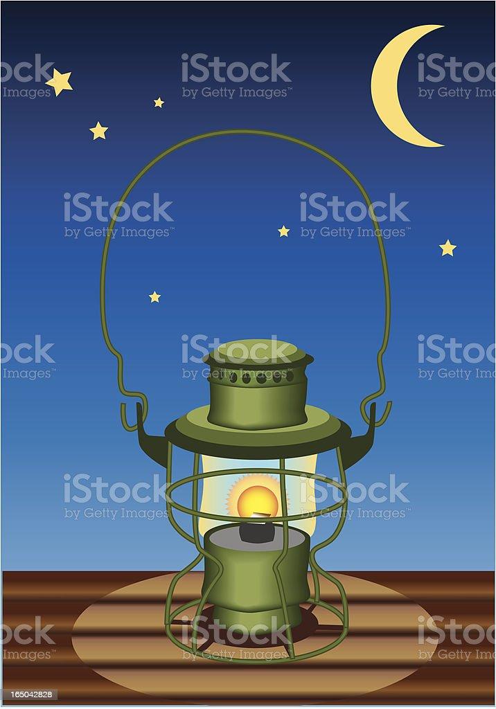 lantern at night royalty-free lantern at night stock vector art & more images of camping