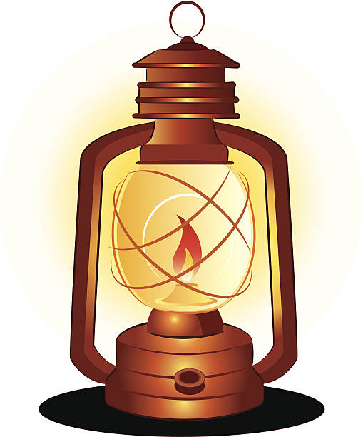 Best Oil Lamp Illustrations, Royalty-Free Vector Graphics ...